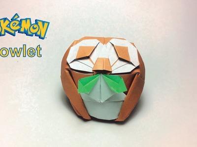 Pokemon: Origami Pokemon Rowlet by PaperPh2
