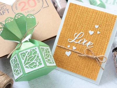 Tonic Craft Kit 20 + How NOT to make a Gift Box