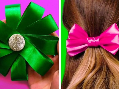 18 EASY AND BEAUTIFUL BOWS TO IMPROVE EVERYTHING