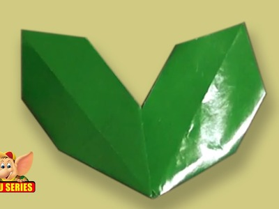 Arts and Crafts - Origami - Origami - Let's make a Holy Leaf