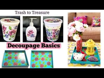 Basic Decoupage Techniques