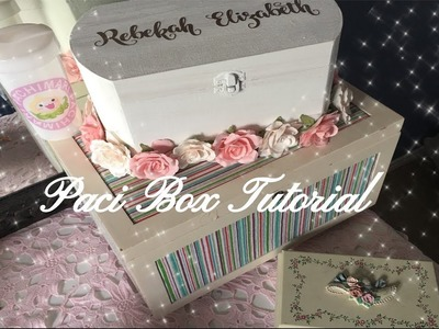 (DDLG.ABDL) How to make your own Paci Box
