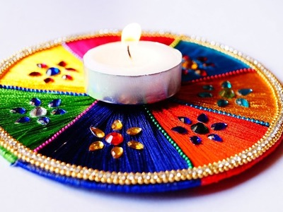 Diwali Special - beautiful & easy decorative candle light to make at home with CD
