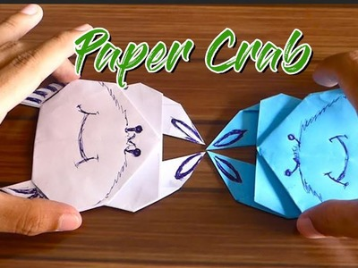 DIY KIDS Origami Make a Paper Crab for Kids BY KH KIDS