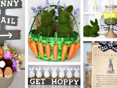 DOLLAR TREE DIYS | EASTER & SPRING | 5 FUN IDEAS