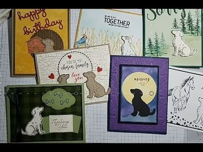 Happy Tails, Stampin' Up!