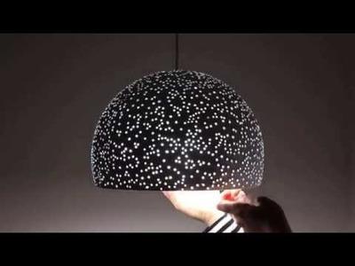 How I Make My Paper Mache Pendant Lights