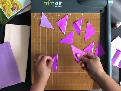 How to cut and wire crepe paper petals or leaves