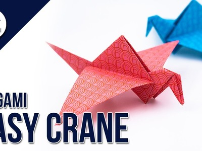 How to make a paper crane - Origami Tutorial