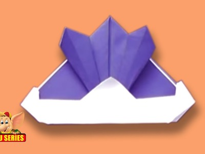 Origami - How to make a Samurai Hat