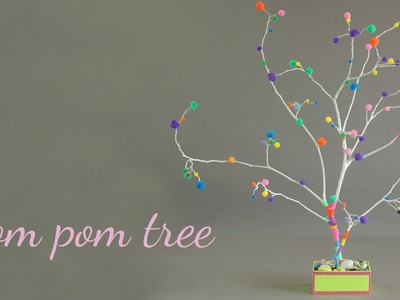 Pom Pom Tree | Home Decor Ideas