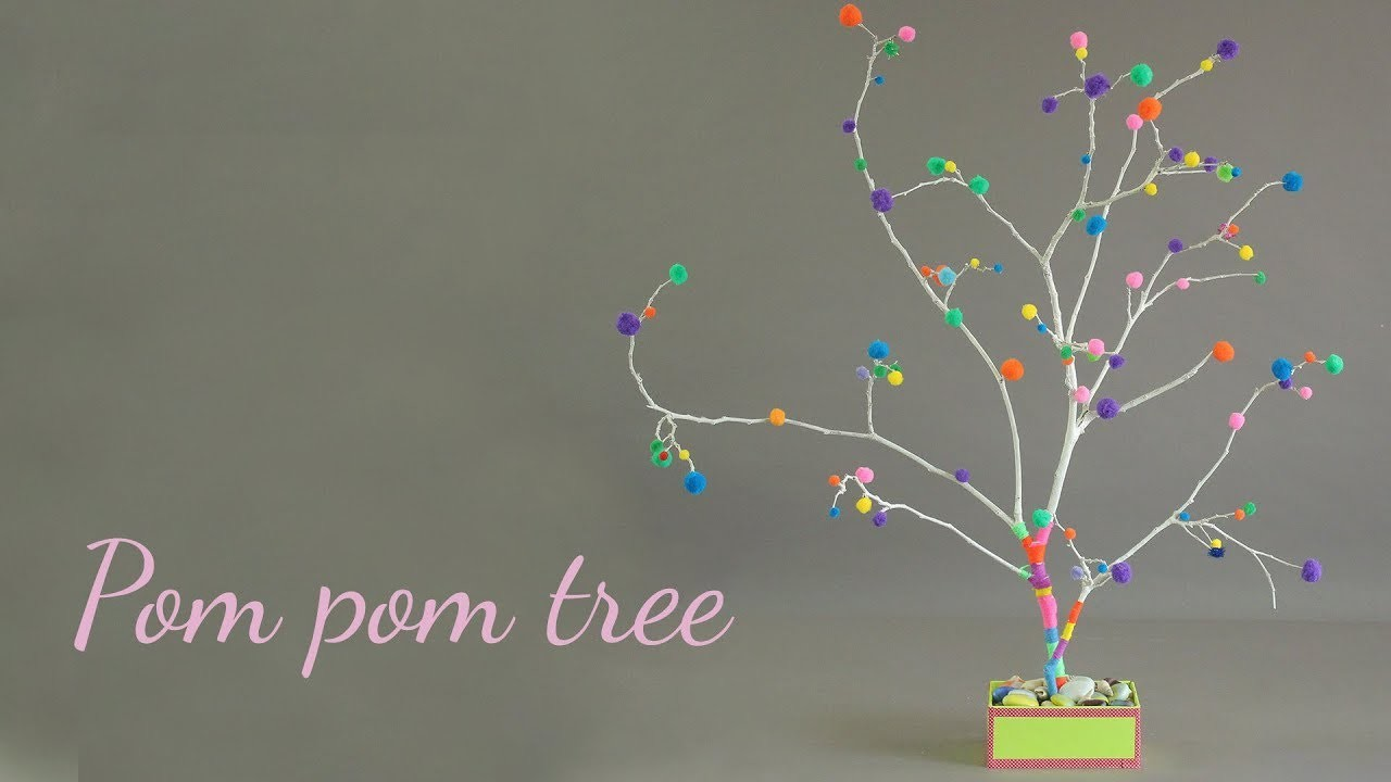 Pom Pom Tree | Home Decor Ideas