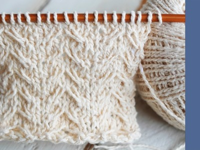 Seagull stitch: The perfect excuse to knit a wrap! - So Woolly