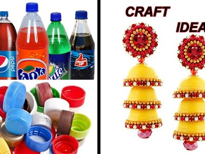 5 minute crafts || Crafts with waste materials || crafts with waste bottles || DIY Craft ideas