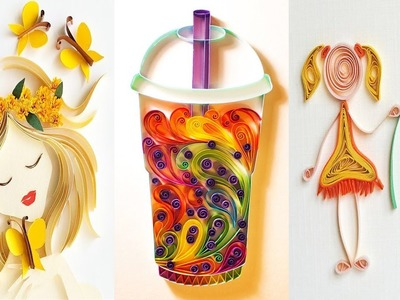 7 Lovely Paper Crafts - DIY Craft Ideas - Very Easy To Make