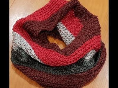 Cowl - Half Double Crochet in the 3rd Loop