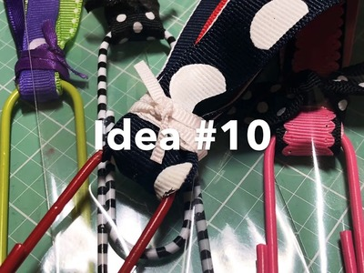 Craft Fair Series 2019-Jumbo Paperclip Bookmarks!-Idea #10