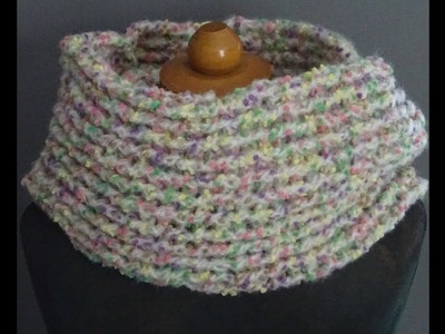 CROCHET INFINITY SCARF NR.3 * EASY AND PRETTY *
