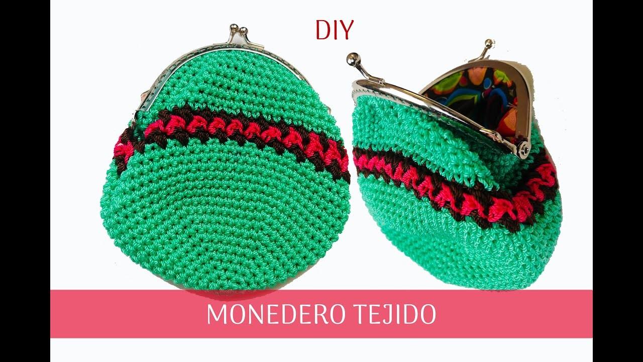 #DIY #Monedero Tejido