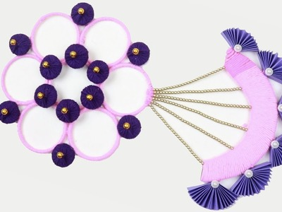 DIY | Old bangles reuse idea | Best out of waste woolen Craft idea | DIY crafts | Amazing craft idea