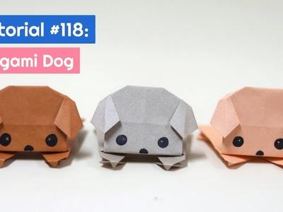 DIY Origami Dog Tutorial | The Idea King Tutorial #118