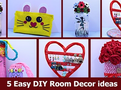 DIY Room Decor ideas from Everyday Objects | Best cardboard box craft idea by Aloha Crafts
