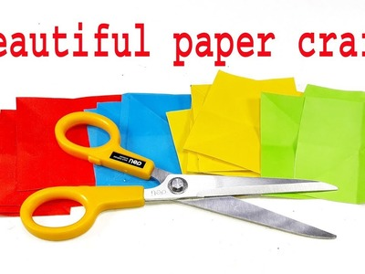 Don't throw old color paper | DIY paper crafts | Best craft ideas | Cool idea you should know