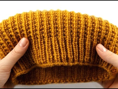How to Knit a Hat #2 Design