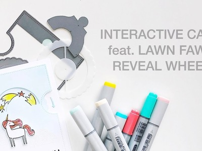 How To Make a Lawn Fawn Reveal Wheel Card