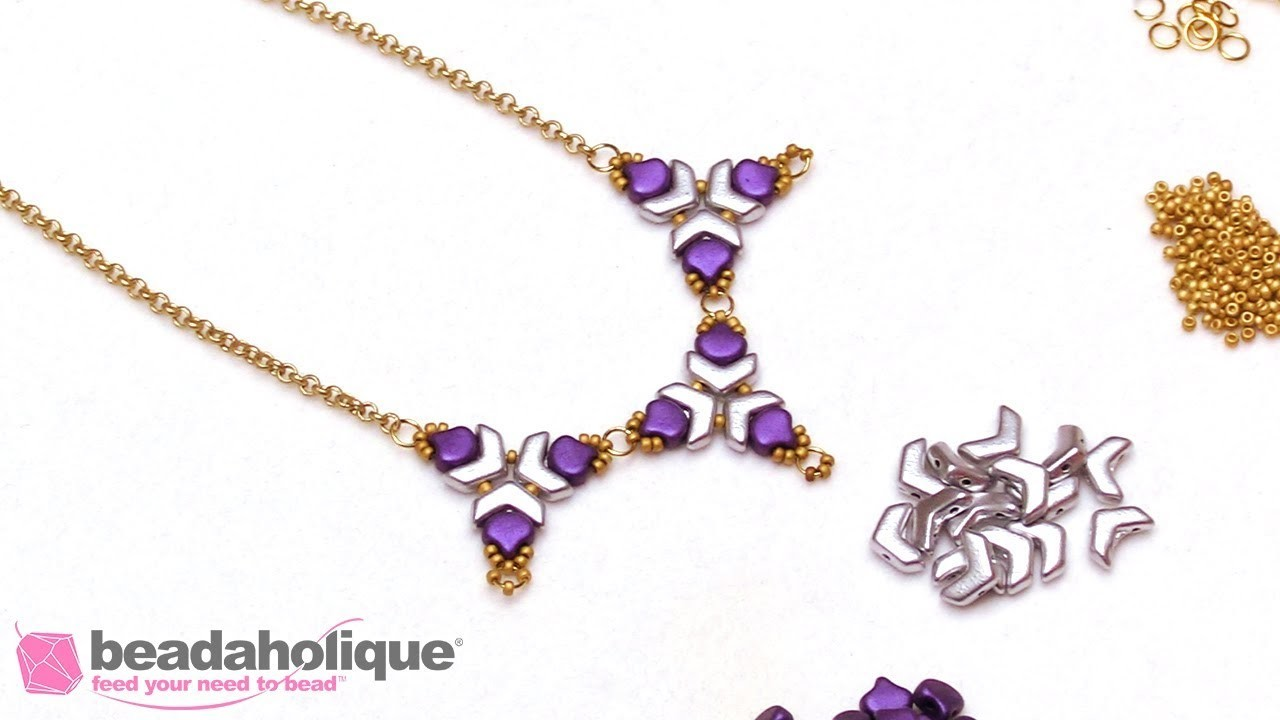 How to Make the Pollen Prism Necklace