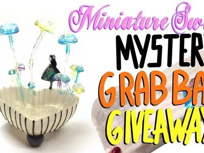 Mystery Grab Bag for resin craft-  GIVEAWAY (CLOSED)-Miniature Sweet- UV resin- DIY- Tutorial