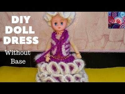 New Doll dress design || doll without basket  || part-2