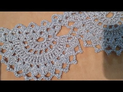 New Lace Pattern,indian crochet patterns,Live.