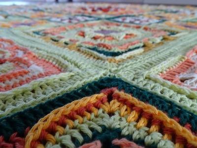 Crochet Blanket - Eve's Sunflowers - Part 10