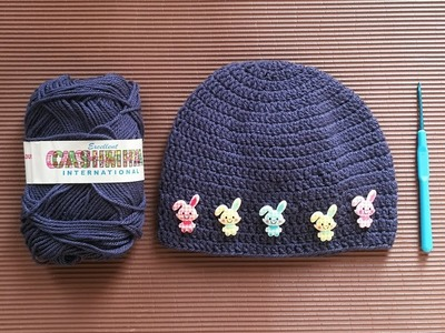 [Crochet Cap], Easy Crochet Cap   Tutorial By KHOUZH - Refined