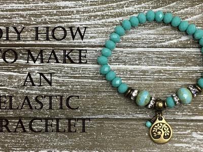 DIY - How to Make a Stretchy Bracelet