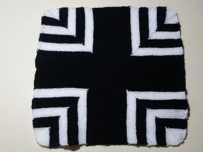 Doormat design knitting tutorial (No. 4 )   Vlog  Mamta ki life
