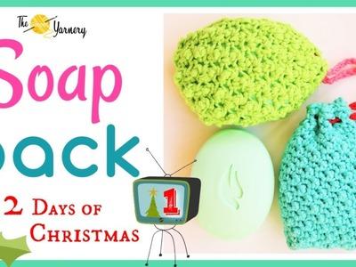 FAST & EASY Last Minute Crochet Gifts - SOAP SACK - Crochet Soap Saver Bag