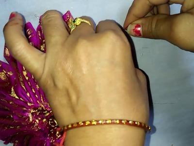 Flower dress for Laddu gopal    how to make laddu gopal dress   jai balaji production