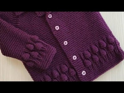 Grapes Border Design in Hindi.Best Knitting Tutorial of 2018:Design-212