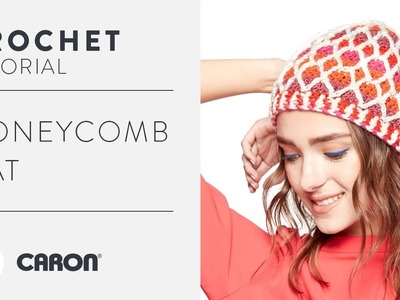 Honeycomb Crochet Hat Tutorial