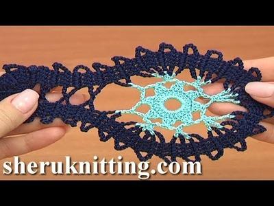 How  Crochet  Simple Motif Tutorial 9 Part 2 of 2