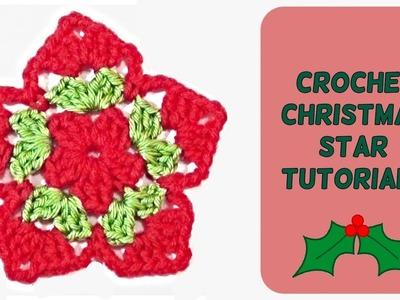 How to Crochet a Star Tutorial - Crochet Jewel
