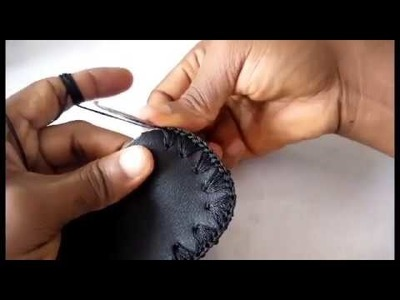 How to crochet on shoe sole by ilodinibe Chidimma For beginners