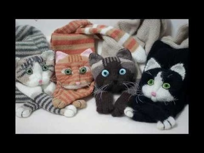 How to Knit a Scarf Knitting Cat Scarf