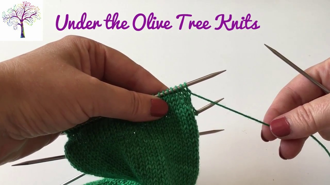 How to Knit a Slip Stitch Sock Heel