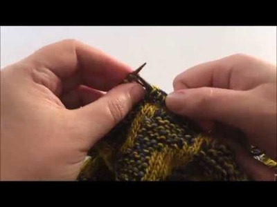 How to knit marlisle colourwork in the round