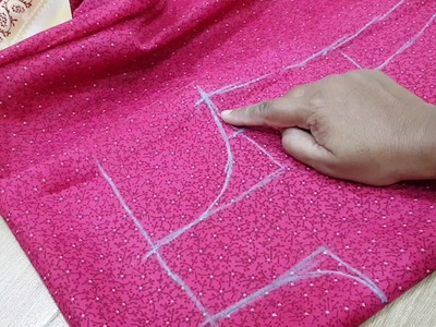 How to learn simple baby frock for beginner