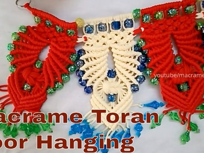 How to Macrame Toran Diwali Special