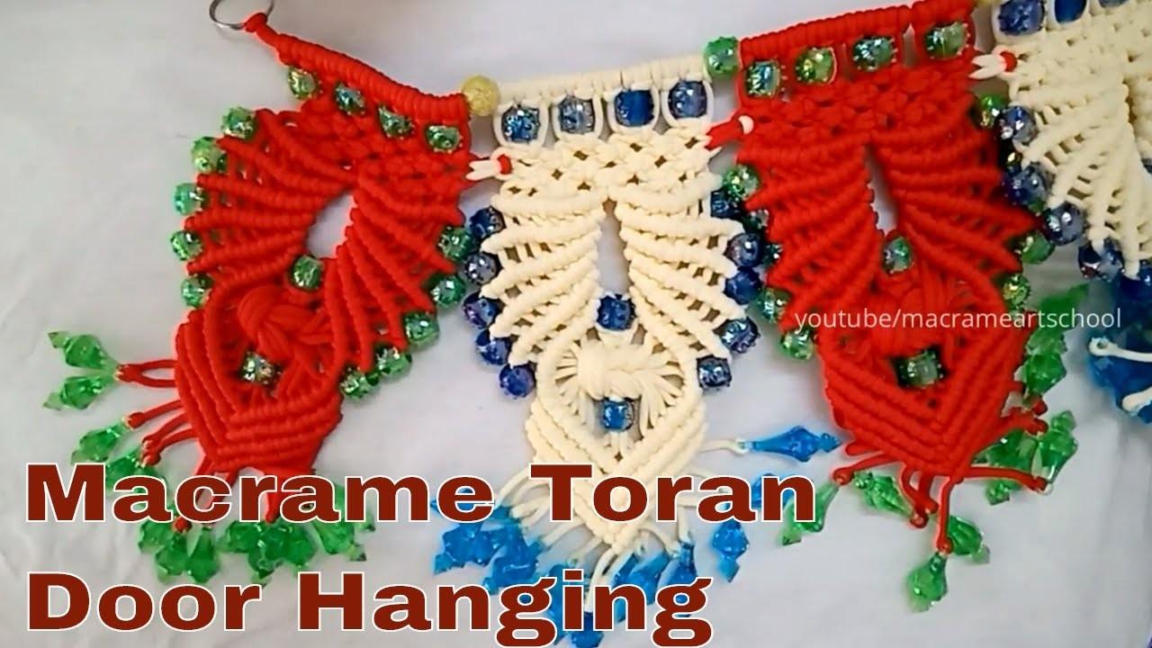 How to Macrame Toran Diwali Special